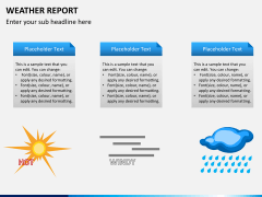 Weather report PPT slide 4