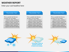 Weather report PPT slide 6
