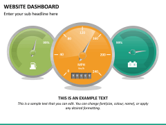Website dashboard PPT slide 18