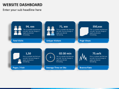 Website dashboard PPT slide 4