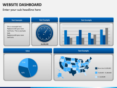 Website dashboard PPT slide 7