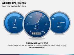 Website dashboard PPT slide 8
