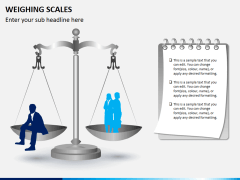 Weighing scales PPT slide 1
