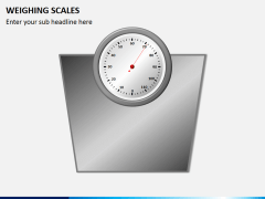 Weighing scales PPT slide 2