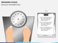Weighing scales PPT slide 3