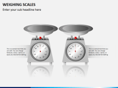 Weighing scales PPT slide 4