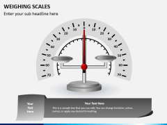 Weighing scales PPT slide 6