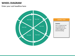 Wheel diagram PPT slide 40