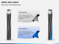 Wires and cables PPT slide 1