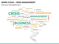 Word cloud PPT slide 17