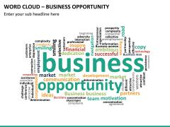 Word cloud PPT slide 28