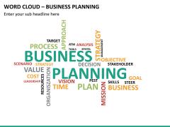 Word cloud PPT slide 30