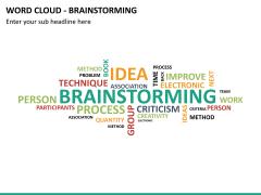 Word cloud PPT slide 31