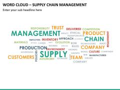Word cloud PPT slide 18