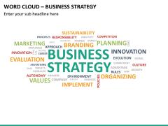 Word cloud PPT slide 20