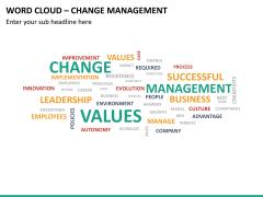 Word cloud PPT slide 22