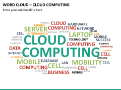 Word cloud PPT slide 24