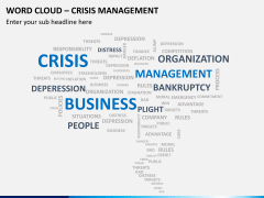 Word cloud PPT slide 1