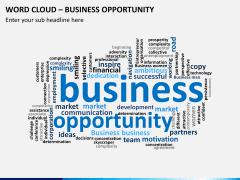 Word cloud PPT slide 12