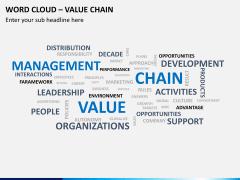 Word cloud PPT slide 3