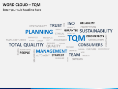 Word cloud PPT slide 5