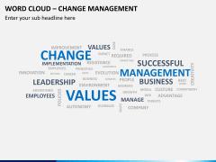 Word cloud PPT slide 6
