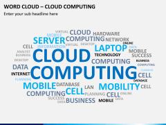 Word cloud PPT slide 8