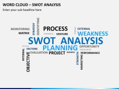 Word cloud PPT slide 9