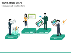Work flow steps PPT slide 13