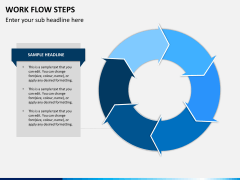 Work flow steps PPT slide 10