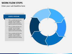 Work flow steps PPT slide 11