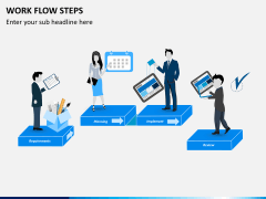 Work flow steps PPT slide 2