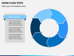 Work flow steps PPT slide 6