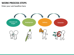 Work process steps PPT slide 10