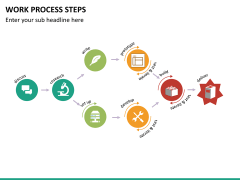 Work process steps PPT slide 11