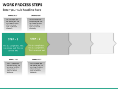 Work process steps PPT slide 15