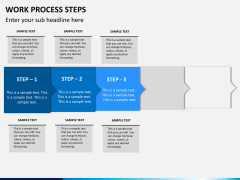 Work process steps PPT slide 7