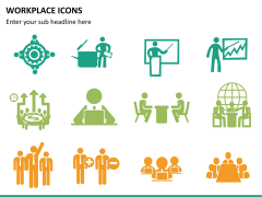 Workplace Icons PPT slide 7