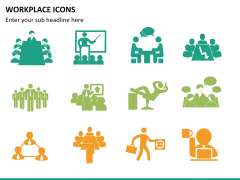 Workplace Icons PPT slide 8