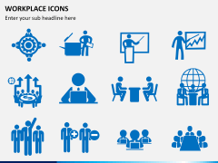 Workplace Icons PPT slide 1
