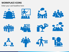 Workplace Icons PPT slide 2