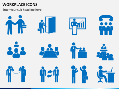 Workplace Icons PPT slide 3