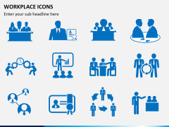 Workplace Icons PPT slide 4