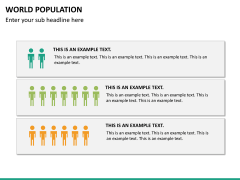 World population PPT slide 20