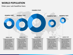 World population PPT slide 1