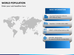 World population PPT slide 4