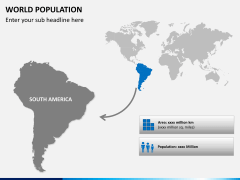 World population PPT slide 6