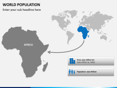 World population PPT slide 7