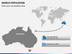 World population PPT slide 8