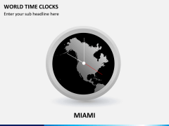 World time clocks PPT slide 1